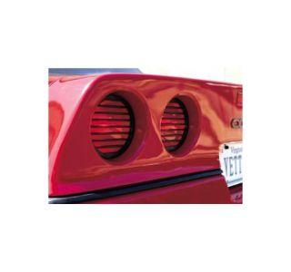 1984-1990 Corvette Tail Light Plastic Louvers