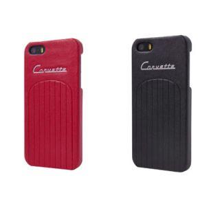 iPhone 5/5S Corvette Leather Hard Case (Accessory Color)