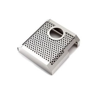 14-18 Perforated/Polished Stainless Master Cylinder Cover (Transmission)