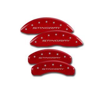 """14-18 Brake Caliper Covers w/""""Stingray"""" (Brake Color)"""