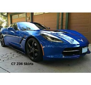 15-18 Z06 Replica Side Skirts (Painted Fiberglass) (Exterior Color)