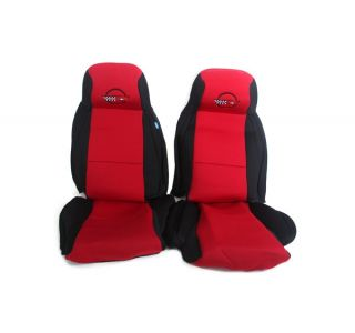 4-96 STD Seat Neoprene Seat Covers w/Emblem
