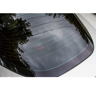 10-13 Rear Cargo Shade w/ Embroidered Grand Sport Emblem