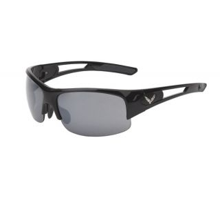 C7 Corvette Gloss Black Rimless Sunglasses (Rx Capable) (Default)