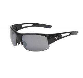 C7 Corvette Gloss Black Rimless Sunglasses (Rx Capable)