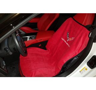 14-18 Seat Armour Cover w/ C7 Emblem
