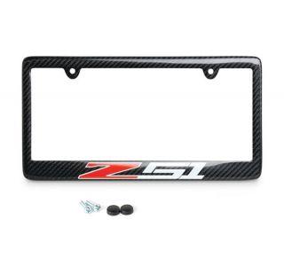 14-18 Z51 Carbon Fiber License Plate Frame