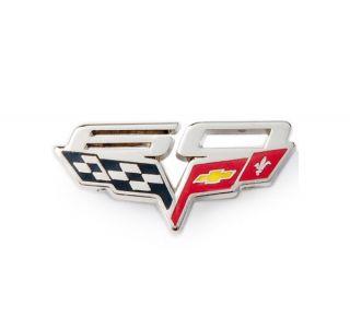 60th Corvette Lapel Pin