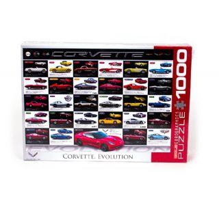 Corvette Evolution Jigsaw Puzzle