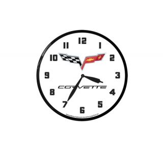 C6 Corvette 14in Wall Clock