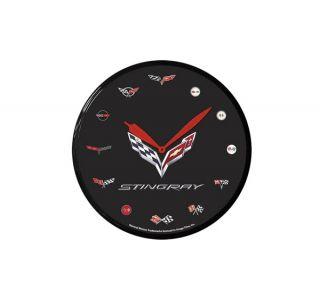 C7 Corvette Stingray 14in Wall Clock