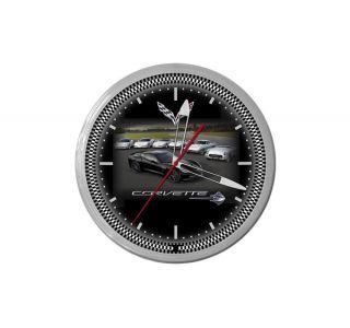 C7 Heritage Corvette 20in Neon Clock