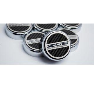 15-19 Auto Z06 Supercharged Carbon Fiber Engine Cap Covers (5pc)