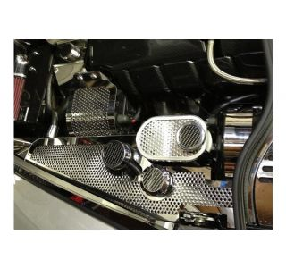05-13 w/Manual Perforated Stainless Coolant Tank Cover & Caps