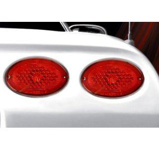 97-04 Max Red LED Tail Light Set