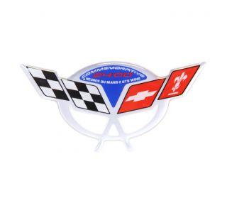 04 Commemorative Air Intake Duct Domed Emblem