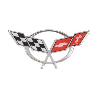 "97-04 Pillar Domed Emblem (5.5"" x 2.5"")"