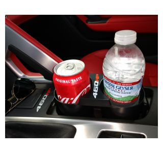 14-19 Stop Flop Console Cup Holder w/460hp Logo