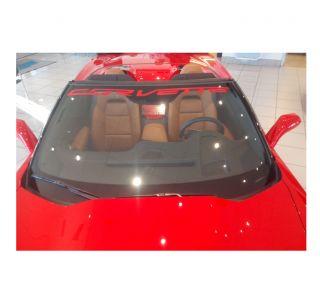 "14-19 ""Corvette"" Windshield Banner Decal"