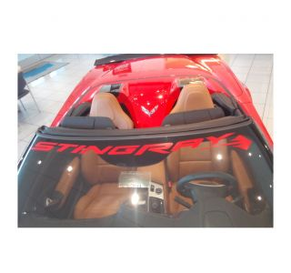"""14-19 """"Stingray"""" Windshield Banner Decal"""