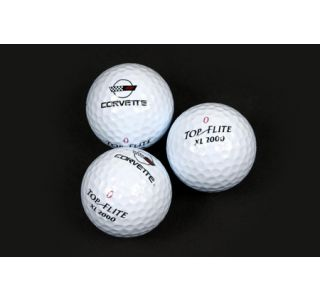 """Golf Balls Corvette """"C4 Emblem"""""""