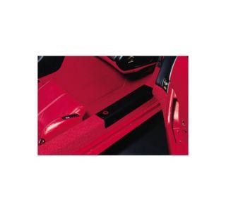 1984-1987 Corvette Black Sill Covers w/Emblem