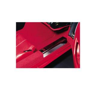 1984-1987 Corvette Chrome Sill Covers w/Emblem