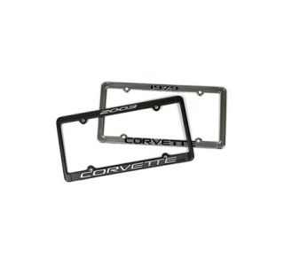 1963-2013 Corvette Model Year License Plate Frame