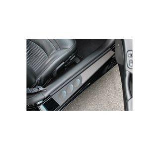 1997-2004 Corvette Altec Custom Sill Covers (Black)