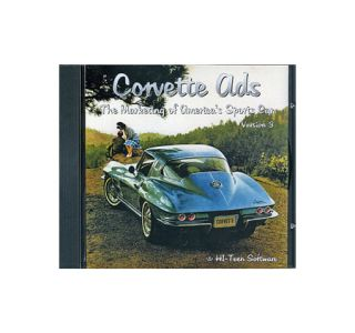 1963-2001 Corvette Ads CD