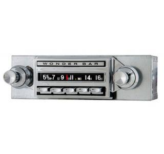 61-62 Wonderbar AM/FM Stereo Bluetooth Radio
