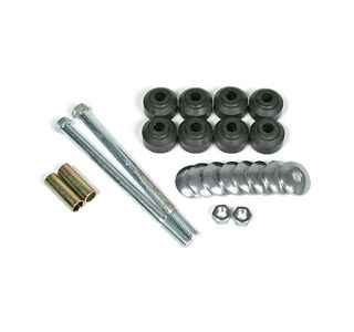1963-1982 Corvette Front Sway Bar End Link Kit (Replacement)