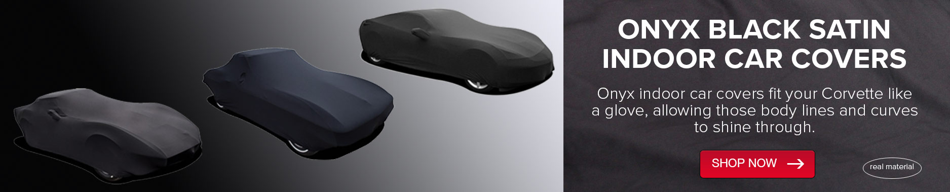Onyx Black Satin Indoor Car Cover