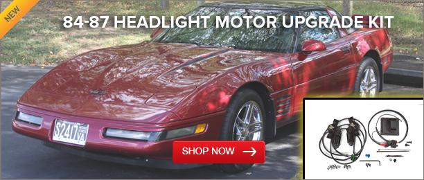 84-87 Headlight Motor Upgrade Kit
