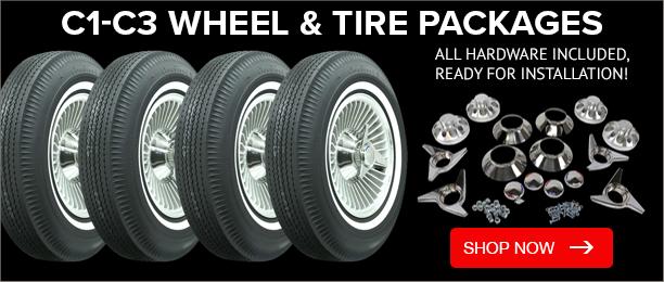 C1-C3 Wheels & Tires Packages