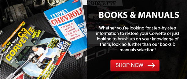 Corvette Manuals & Books