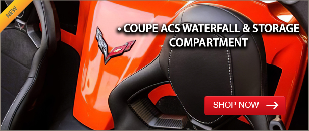 Coupe ACS Waterfall & Storage Compartments