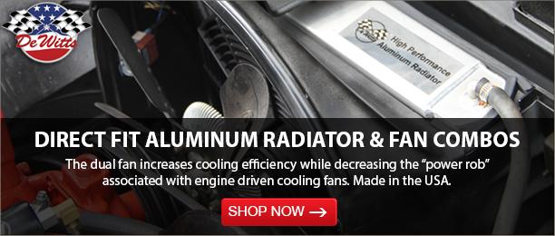 Dewitt Radiator Fan Combo