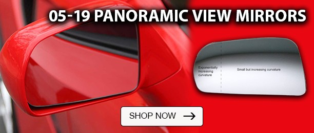 Panoramic View Blind Spot Mirrors