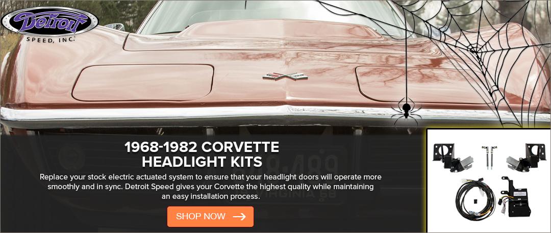 Detroit Speed Electric Headlight Conversion