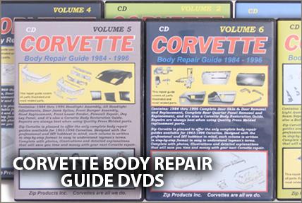 Corvette Body Repair DVDs