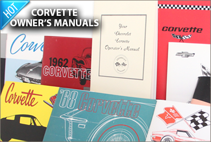 Corvette Owners Manuals