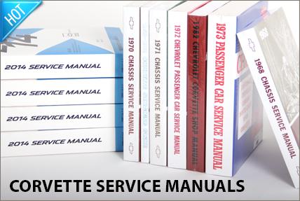 Corvette Shop & Service Manuals