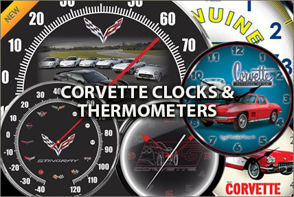 Corvette Clocks & Thermometers