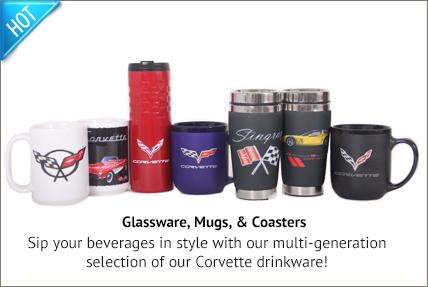 glassware mugs and coasters