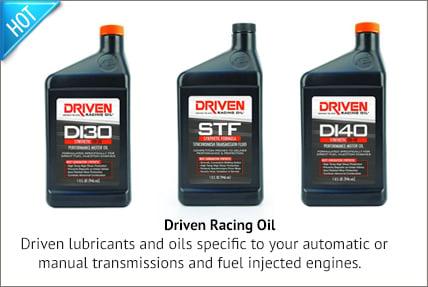 driven racing oils