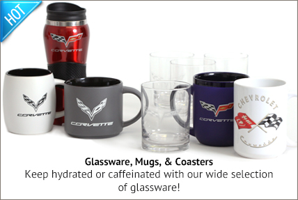 Glassware, Mugs & Coasters