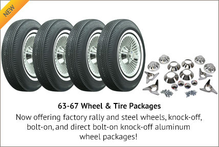 63-67 Wheel & Tire Packages