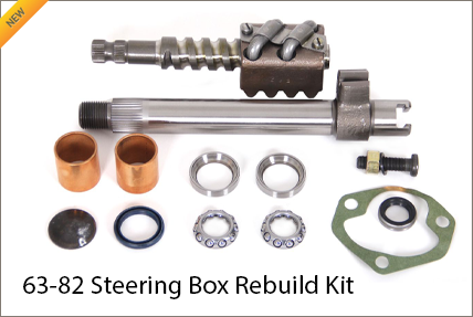 Steering Box Rebuild Kit for C2