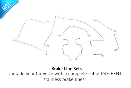 stainless brake line sets